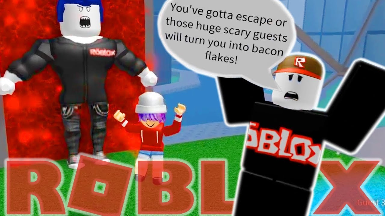 Escape The Guests Obby In Roblox Radiojh Games Youtube