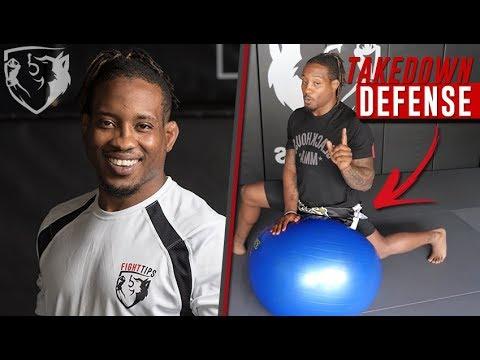 Bubba Jenkins' Takedown Defense on Exercise Ball