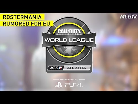 Rostermania is Rumored to be coming to European Call of Duty Teams - #CWLPS4