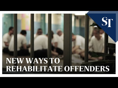 New ways to rehabilitate offenders | The Straits Times