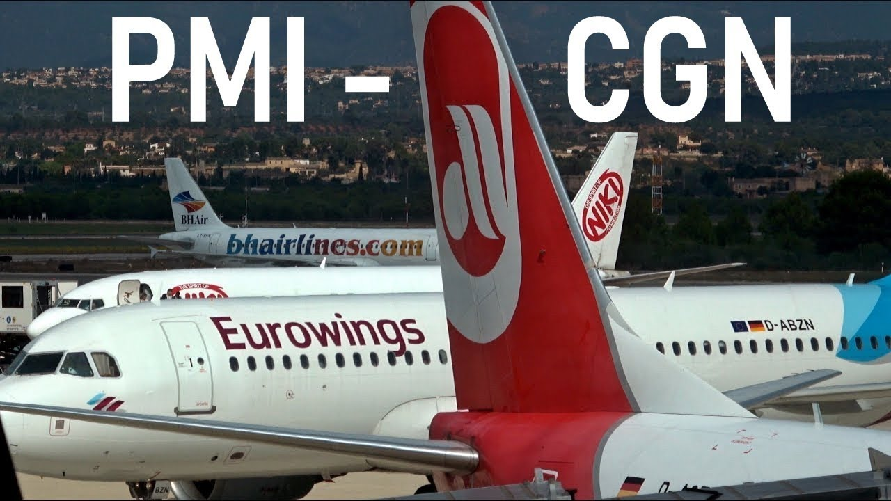 Mallorca Cologne Eurowings Operated By Airberlin Ew593 1510