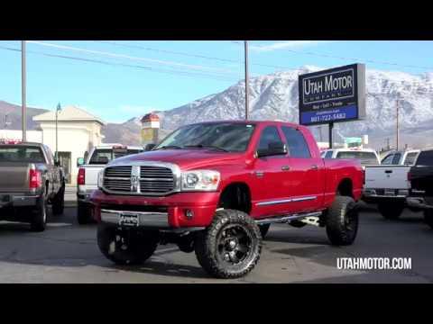 "2009 Dodge Ram Laramie Mega Cab 8"" Lift 37"" Tires - Utah ..."