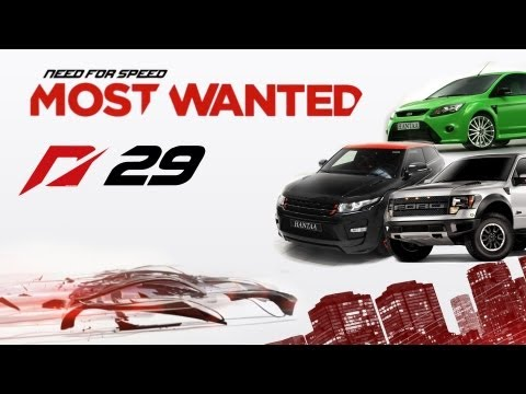 Need For Speed: Most Wanted (2012) - ep.29 - Range Rover Evoque, Ford Raptor, Ford Focus