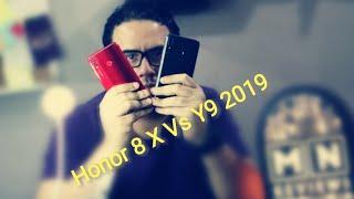 Honor 8 X Vs Y9 2018 - بكيزه و زغلول