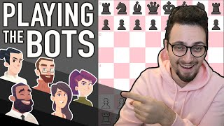 How To CRUSH Beginner Chess Bots