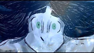 Следы на песке: дипломный анимационный фильм ВГИК/The footprints in the sand: graduate film