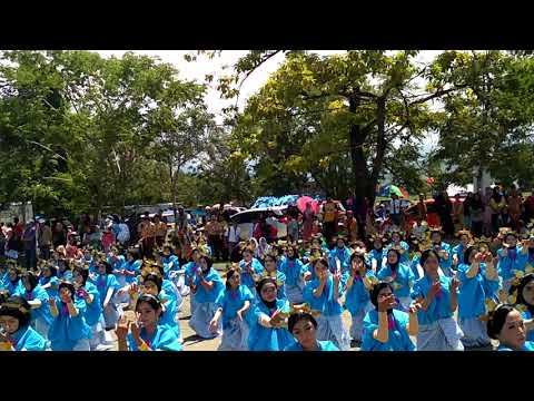 Dirgahayu Kab.Barru ke 58 Rekor Muri Dunia Tari pattennung dgn peserta 3058 peserta