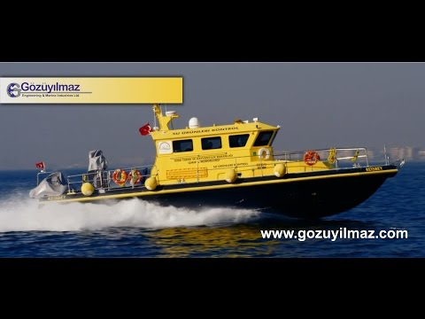 Gözüyılmaz Engineering & Marine Industries - HDPE PATROL BOAT (GM P/H -1600)