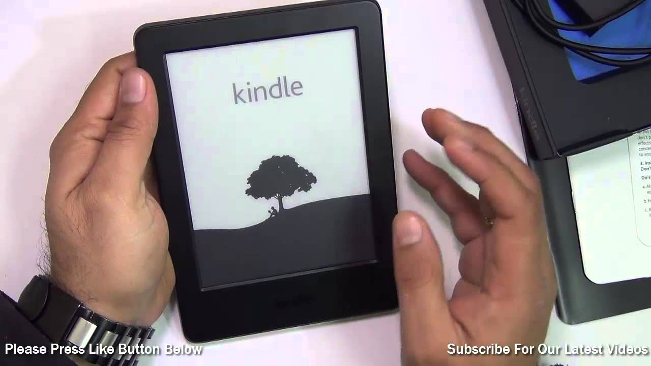 Amazon Kindle 7th Generation Wifi Unboxing And Hands On Review Youtube