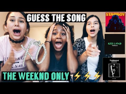 IF YOU GUESS THE SONG YOU WIN THE WEEKND EDITION w/ @Shessabrina
