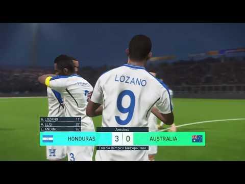 HONDURAS VS AUSTRALIA (IDA) REPECHAJE MUNDIAL RUSIA 2018 (SIMULACIÓN)