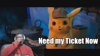 THIS ACTUALLY LOOKS FIRE  | POKÉMON Detective Pikachu - Official Trailer #1 REACTION