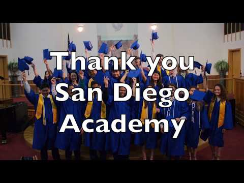 Senior Thank You - San Diego Academy