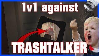 1v1 against SALTY TRASH-TALKER! - Rainbow Six Siege