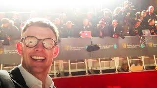 SNEAKING ONTO THE RED CARPET AT BAFTAS AS FAKE CELEBRITIES
