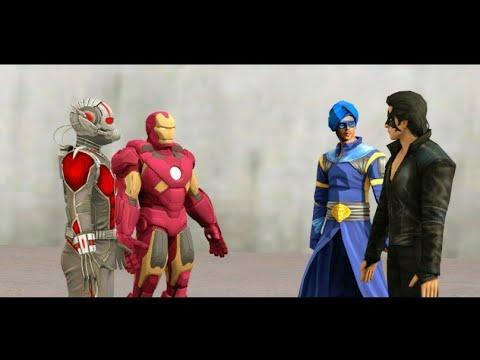 Krrish Vs Iron Man Vs Flying Jatt Vs Ant-Man Epic Dance Competition, Entertainment