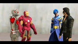 Download Video Krrish vs Iron Man vs Flying Jatt vs Ant-Man epic dance competition, entertainment MP3 3GP MP4