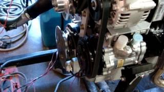 jaguar e type 4.2 fuel injection test