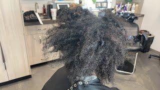 Texturizing natural hair