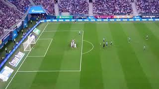 Первый гол Паредеса с трибун Зенит Арены