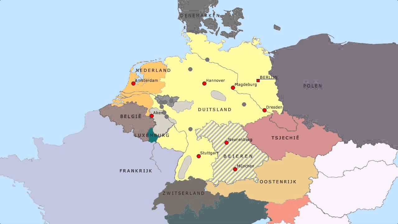 Topografie Duitsland En De Buurlanden Www Topomania Net