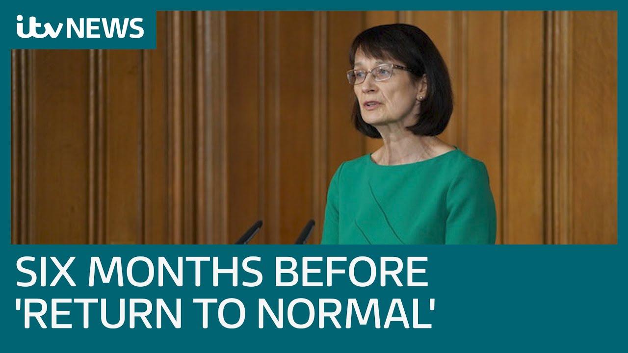 UK coronavirus measures 'could last for six months' | ITV News