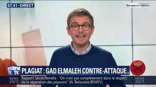 Accusé de plagiat, Gad Elmaleh fait supprimer les vidéos qui le mettaient en cause