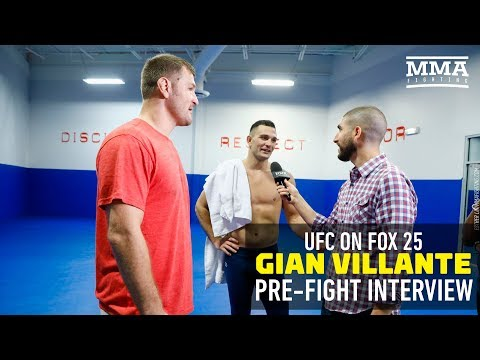 Gian Villante: UFC Champ Stipe Miocic Is My Valet for Week - MMA Fighting