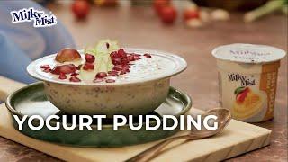 Yogurt Pudding Recipe | Pudding Recipe