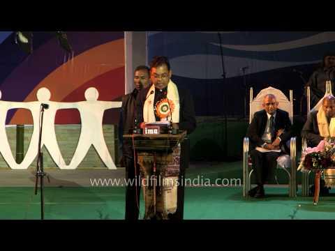 Chief Guest, Shri Pawan Singh Ghatowar praises Manipur