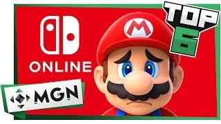 6 Cosas Que Debes Saber Del Nintendo Online | MGN
