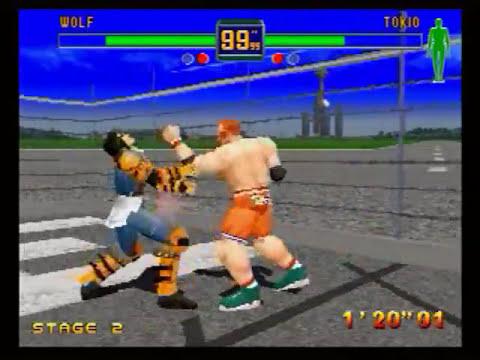 Fighter's Megamix (Sega Saturn) Gameplay
