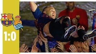 Coutinho zaubert bei Iniesta-Abschied | FC Barcelona - Real Sociedad