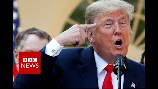 Donald Trump on Brett Kavanaugh - BBC News