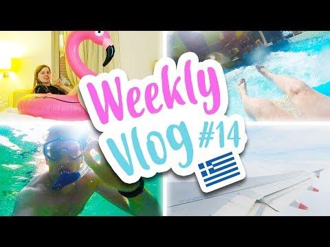 WEEKLY VLOG #14 | GREECE WEEK 1