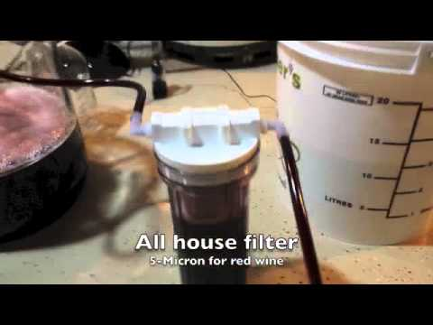 Diy Wine Filter Youtube