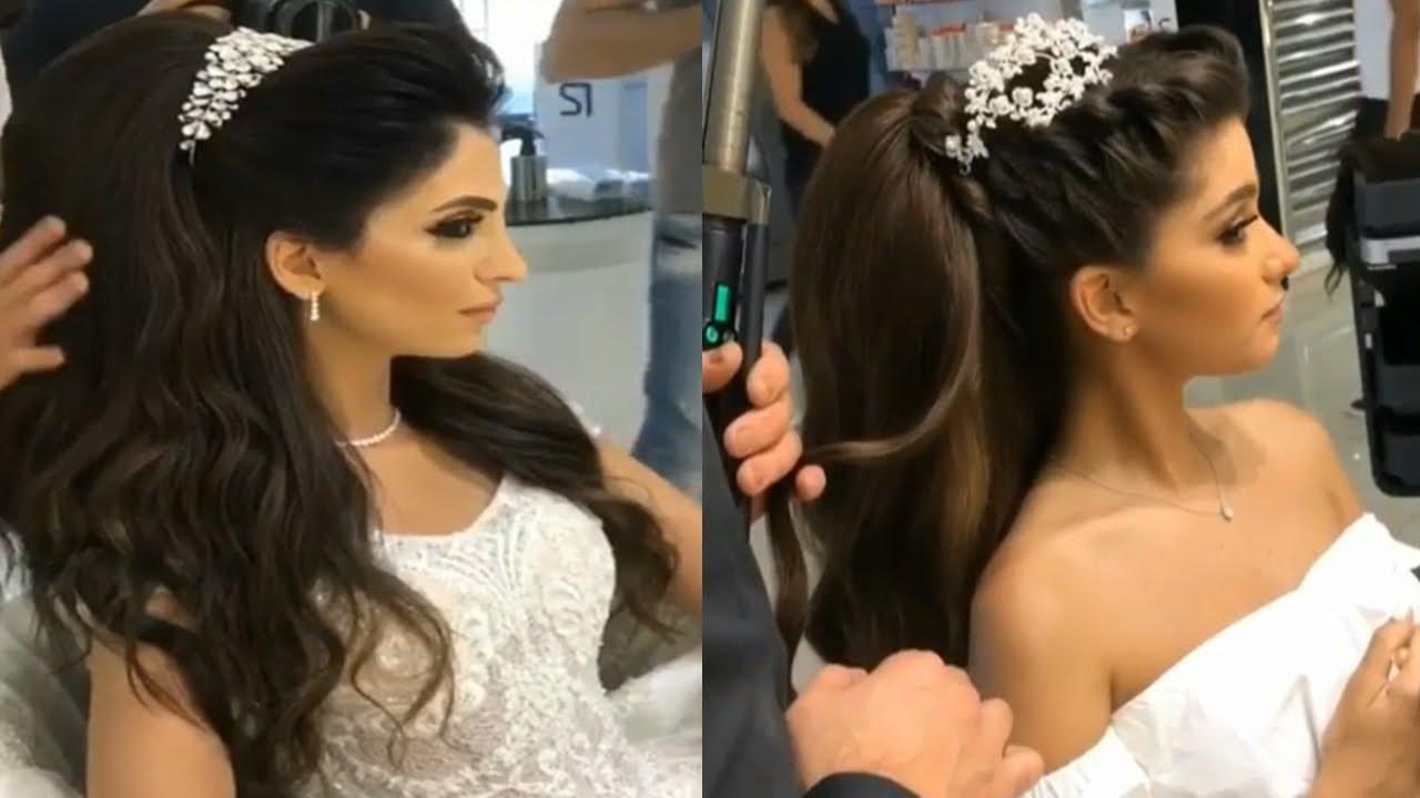 Peinados de novia 2018 con corona