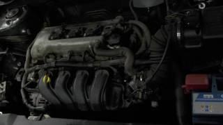 Двигатель Toyota для Corolla E12 2001-2006;CorollaVerso 2004-2009