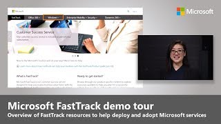 An overview of the FastTrack digital experience and resources
