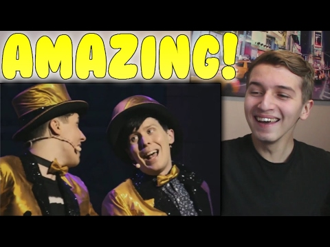 Dan and Phil The Internet Is Here Reaction - HPNY!