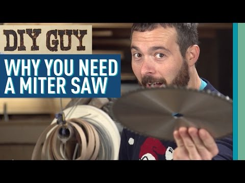 DIY Guy Tries To Sell You A Miter Saw