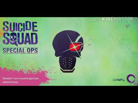 SUICIDE SQUAD amazing playing with guns and fire