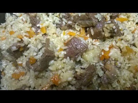 Вкуснейшее блюдо Очень ВКУСНЫЙ домашний ПЛОВ по Узбекски. Рецепт Плова из Баранины