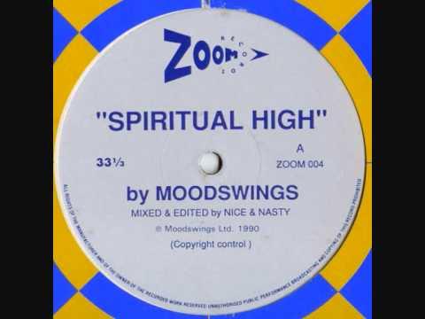 "Moodswings - Spiritual High - Original 12"" - 1990"
