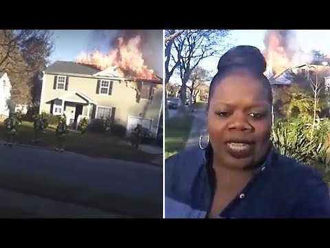 Hilarious Wannabe-Reporter Solves Arson Case Live On Facebook