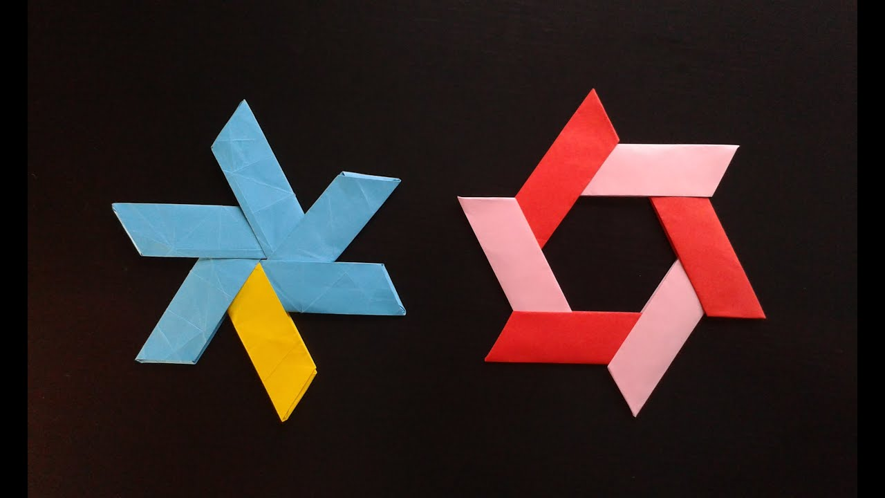 how to make a transforming origami ninja star youtube