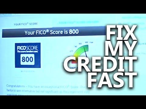 Fix My Credit Score Myself || Live Debt Free || DIY Credit Repair Fast || Remove Negatives || 800