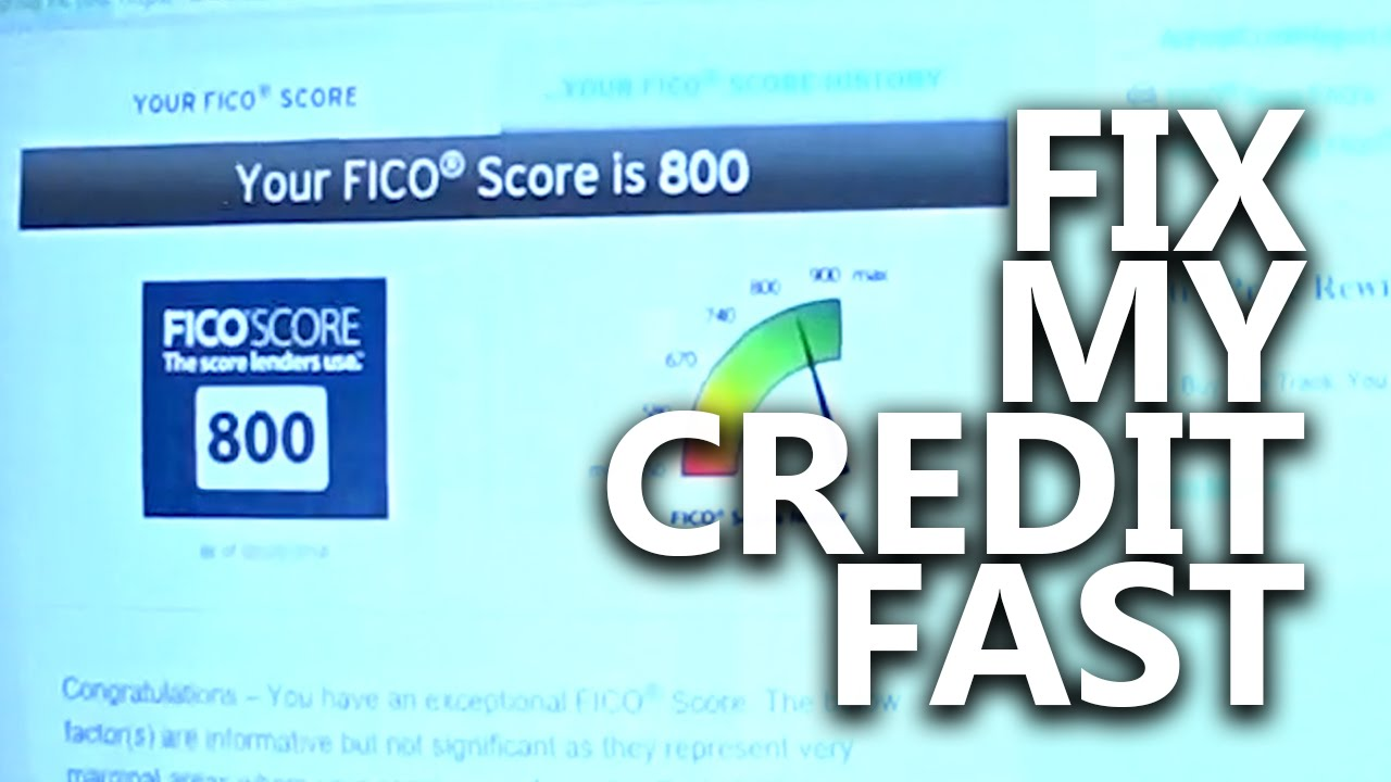 Fix my credit score myself live debt free diy credit repair fix my credit score myself live debt free diy credit repair fast remove negatives 800 ccuart Gallery