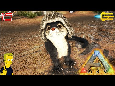 NEW OTTER TAME AND GATHERING SILICA PEARLS - PATCH 267.0 - ARK Survival Evolved S4 E15