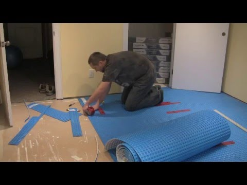 How to install subfloor - 1-Step - problems and solutions